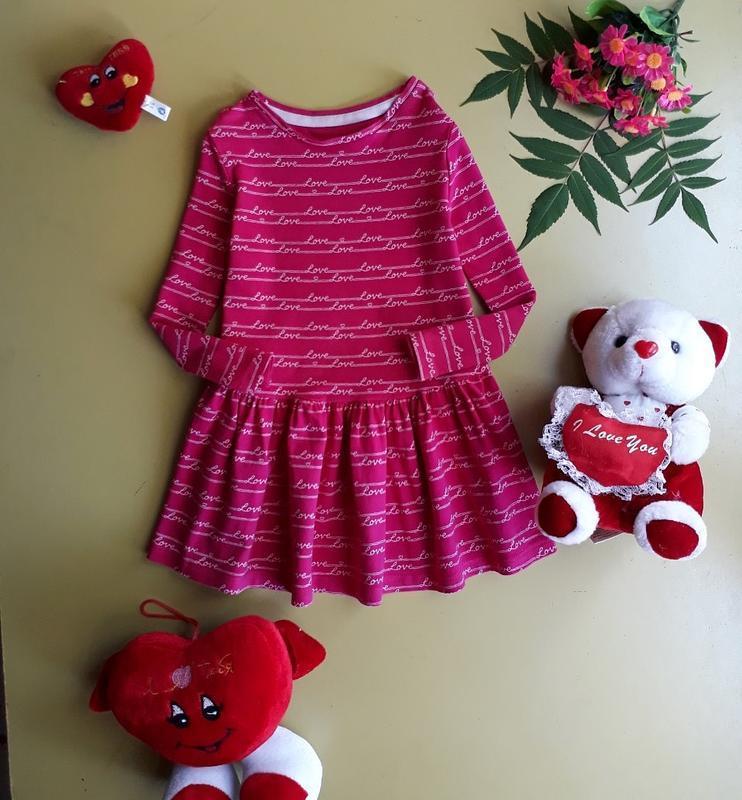 Платье на 18-24 мес