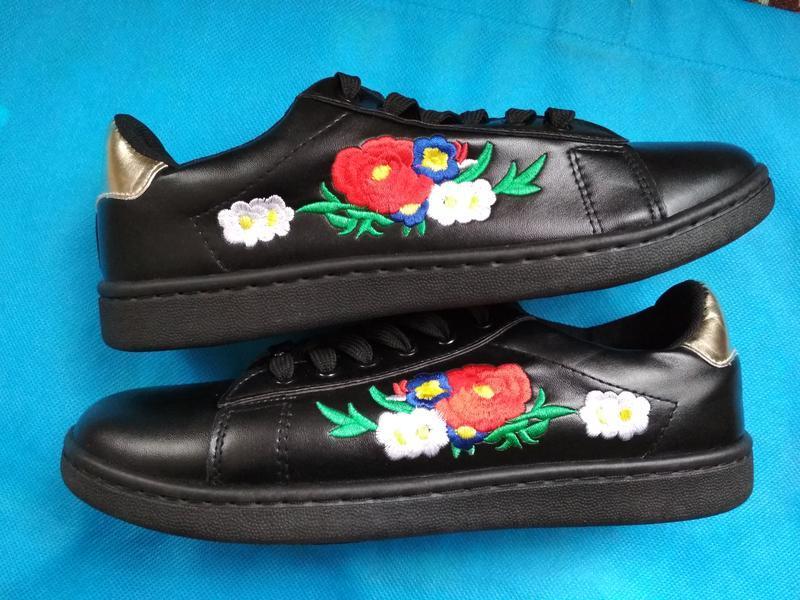 Акция! красивые кроссовки экокожа женские новые