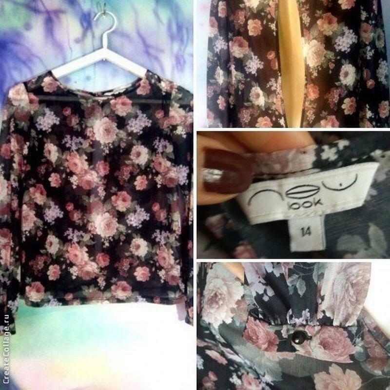 Блузка с открытой спинкой-бренд--new look--12\14р   №134 - Фото 8