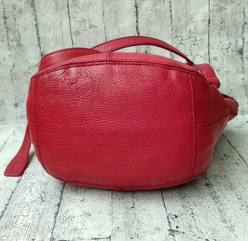 Брендовая сумка из плотной кожи от clarks made in india - Фото 5