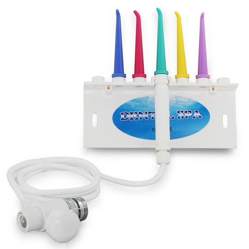 Ирригатор для чистки зубов десен зубная нить иригатор очиститель - Фото 4