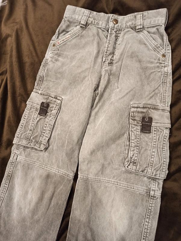 Вельветовые штаны с карманами, брюки, джинсы lemmi