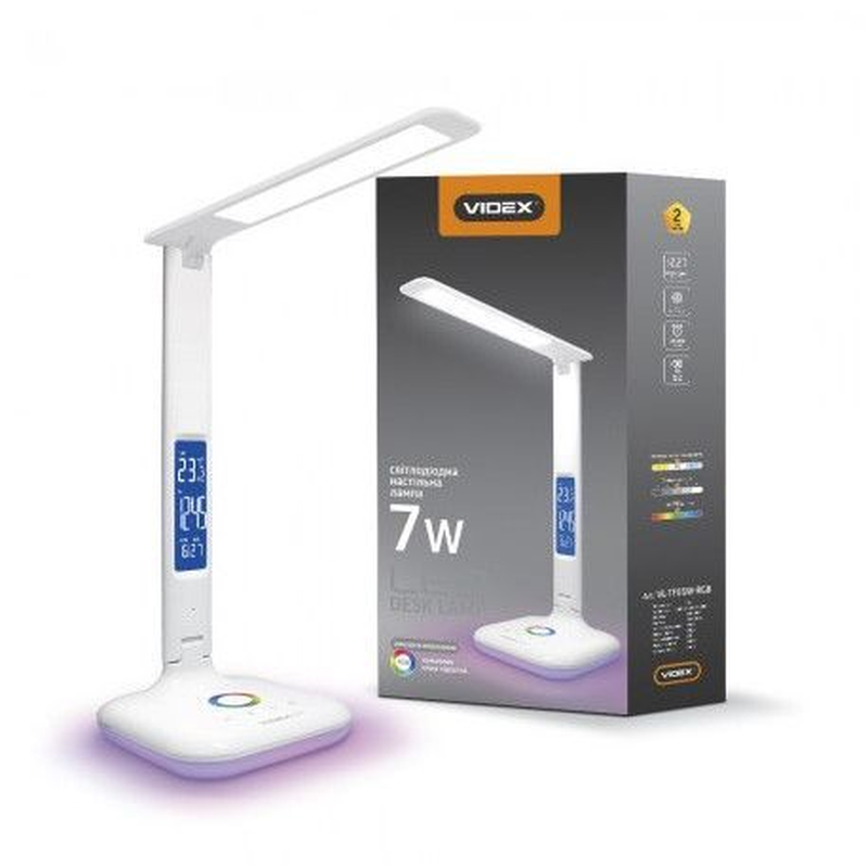 Настольная лампа LED VIDEX VL-TF05W-RGB 7W