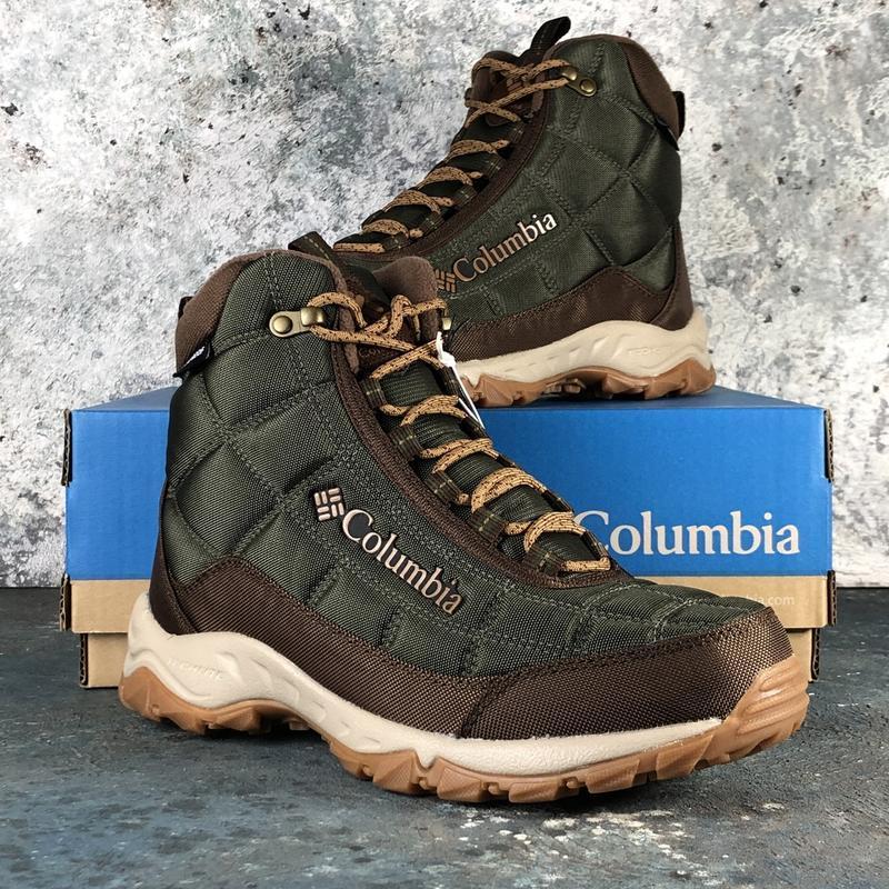 Мужские ботинки columbia firecamp boot оригинал (зима)