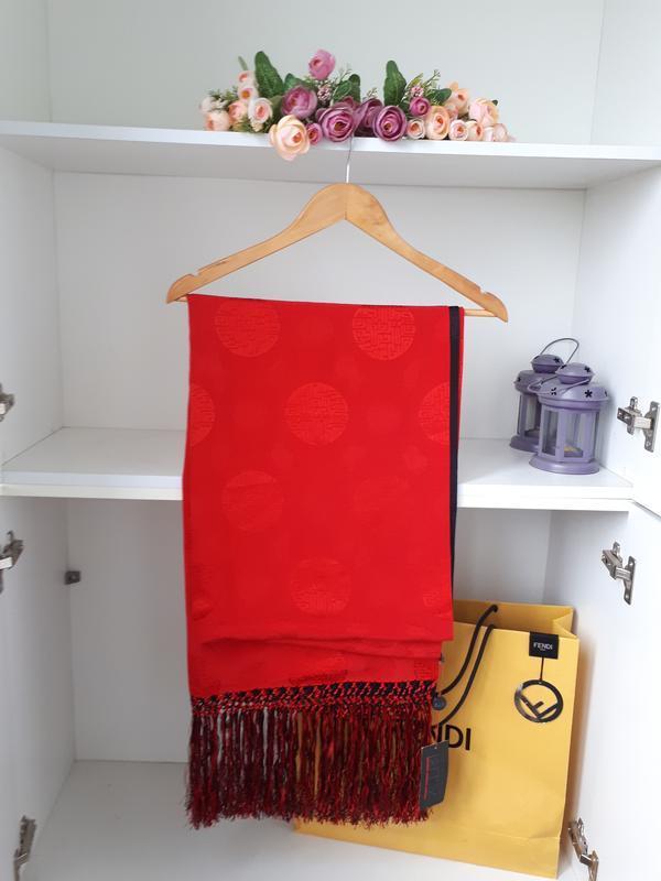 Шелковый двойной палантин шарф artistic palace