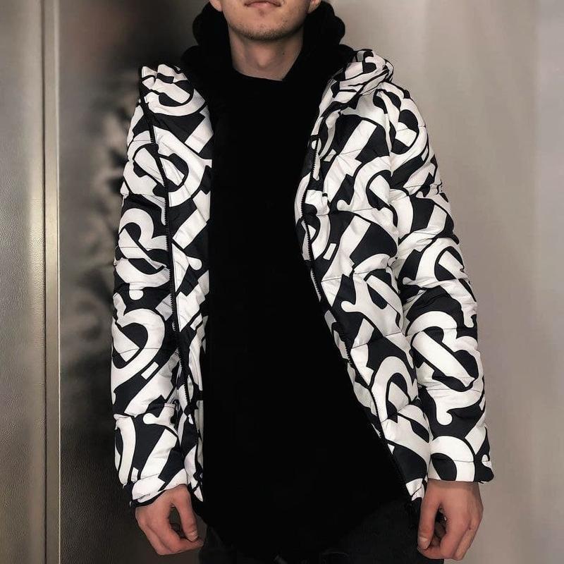 Топовый мужской весенний пуховик куртка