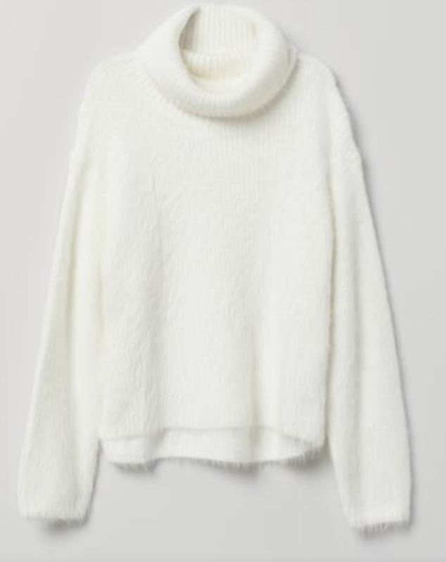 Белый свитер, джемпер, h&m