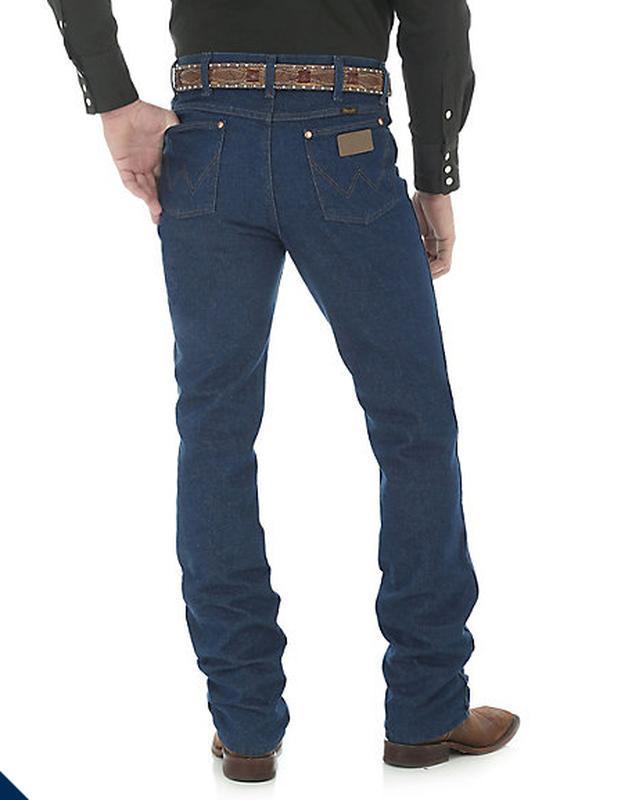 Джинсы wrangler 936 prewashed indigo denim slim fit cowboy cut