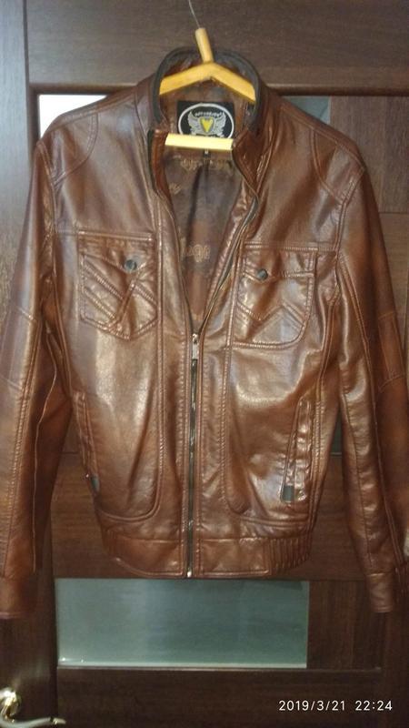 Куртка экокожа HED&HELEN подростковая размер М