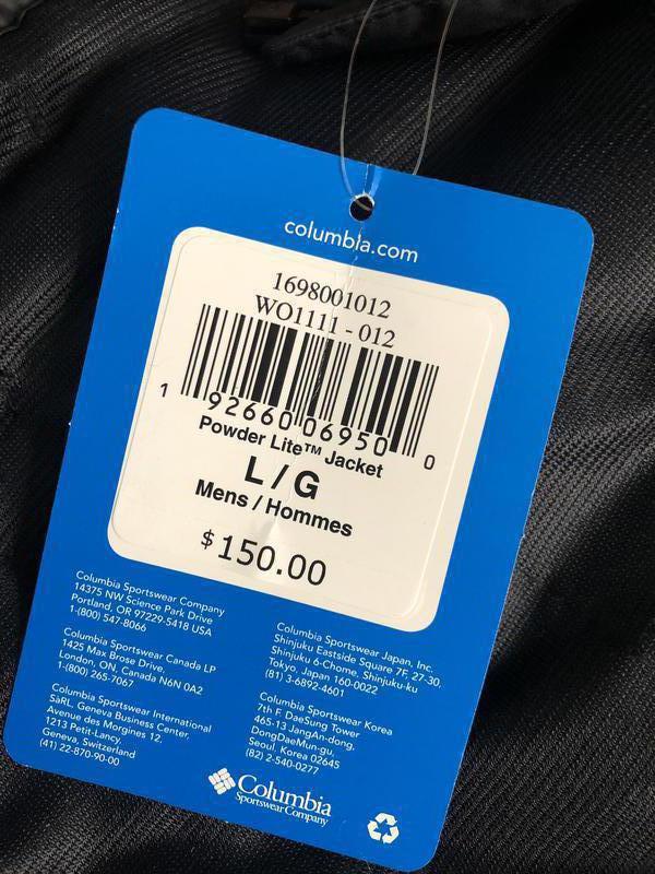 Оригинальная куртка columbia пуховик - Фото 5