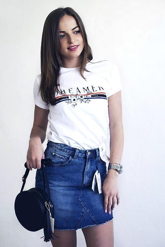 Хлопковая белоснежная футболка от primark размер xs-s распродажа