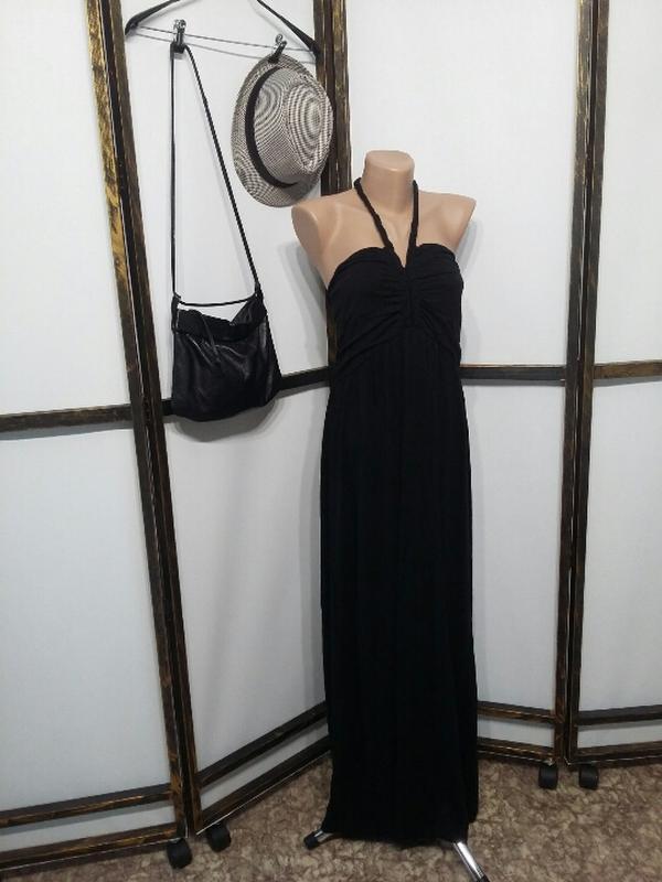 Платье сарафан atmosphere макси в пол на завязках