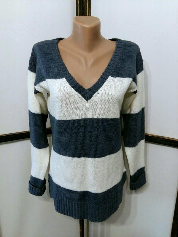 Пуловер джемпер свитер в полоску бренд atmosphere