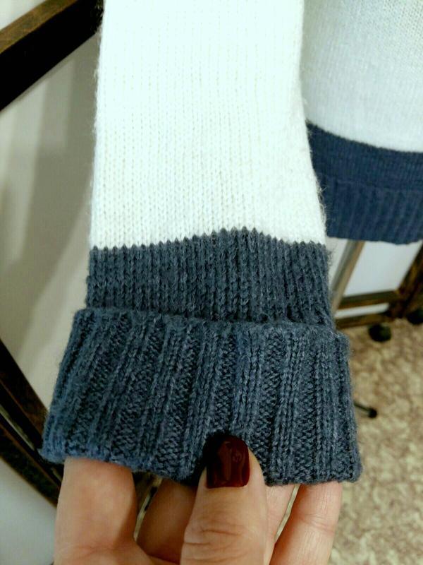 Пуловер джемпер свитер в полоску бренд atmosphere - Фото 3