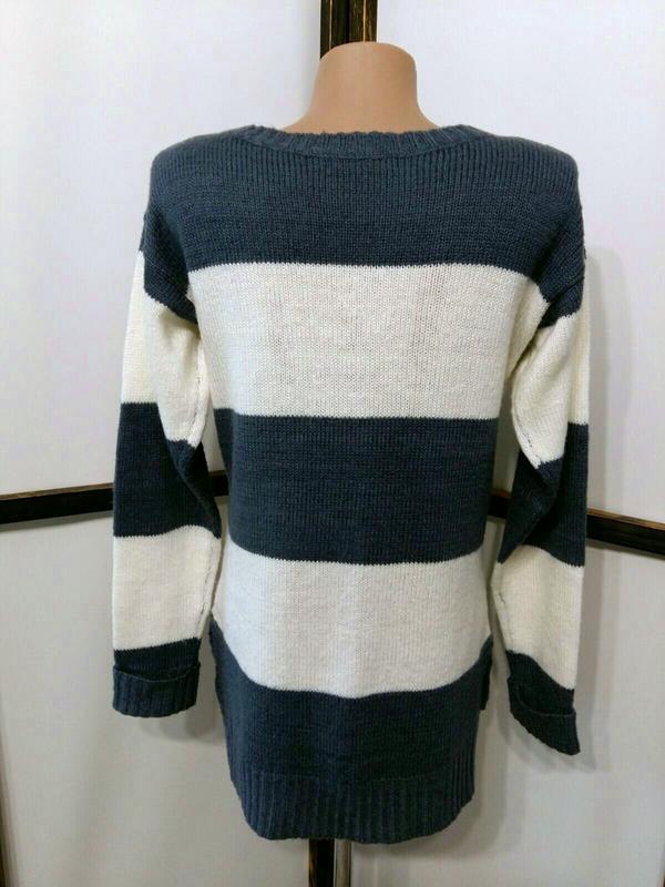 Пуловер джемпер свитер в полоску бренд atmosphere - Фото 5
