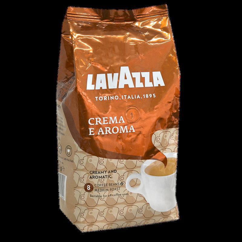 "Кофе в зернах ""Lavazza Crema e Aroma"" 1kg 40/60"