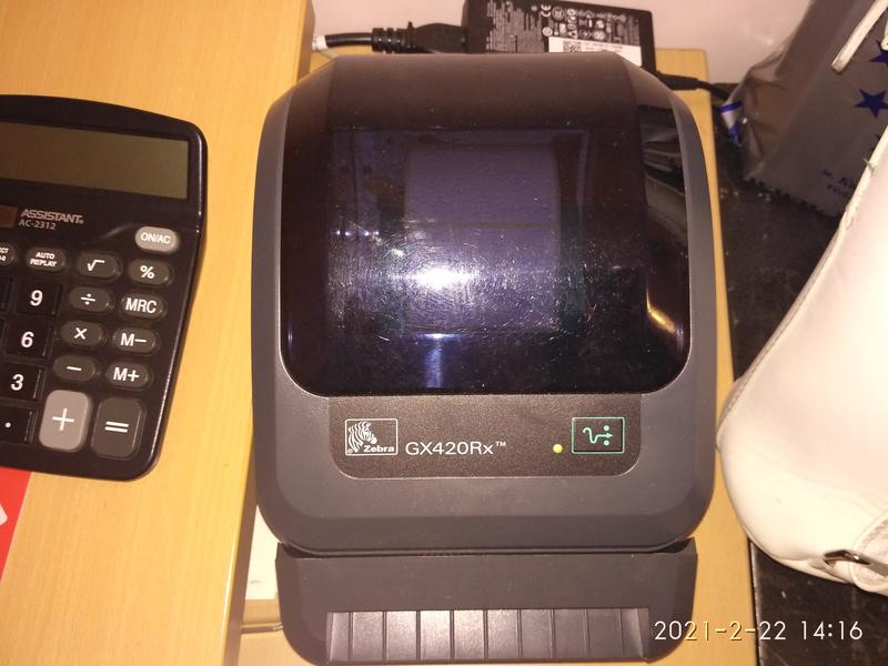 Принтер этикеток - Zebra GX420Rx Barcode Label Printer
