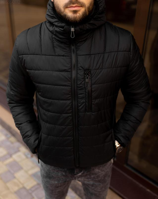 Куртка мужская на весну стеганая демисезон / куртка весна весе... - Фото 5