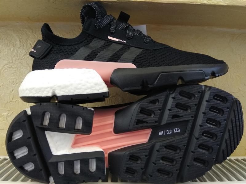 Кроссовки adidas pod-s3.1 black eqt support ultra boost jogger...