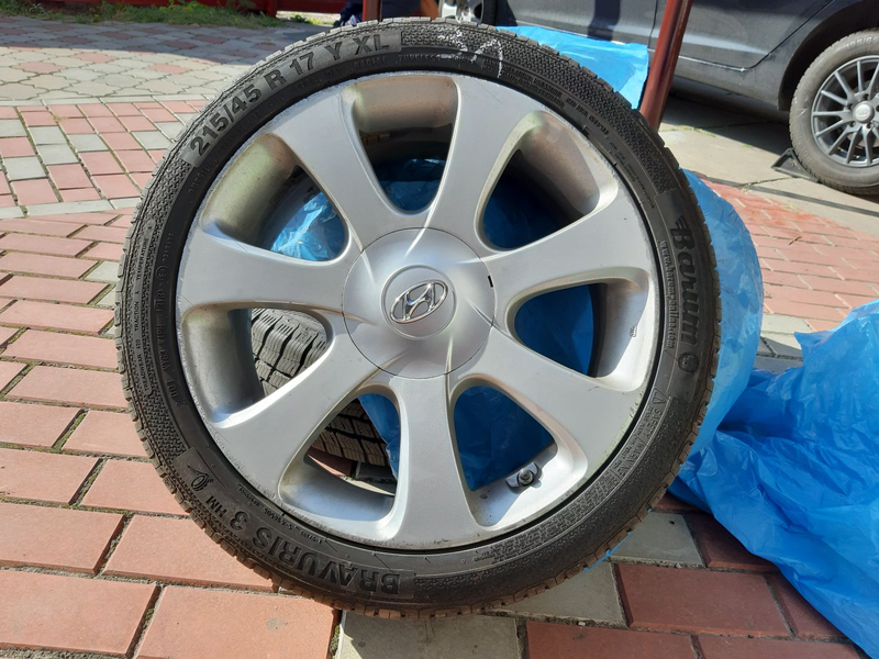 Продам резину с дисками R17 Hyundai Kia - Фото 2
