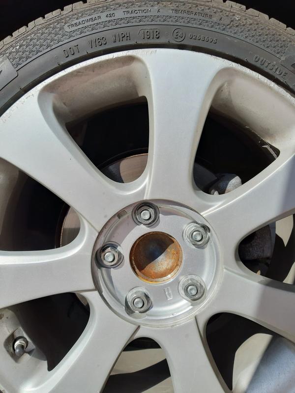 Продам резину с дисками R17 Hyundai Kia - Фото 4