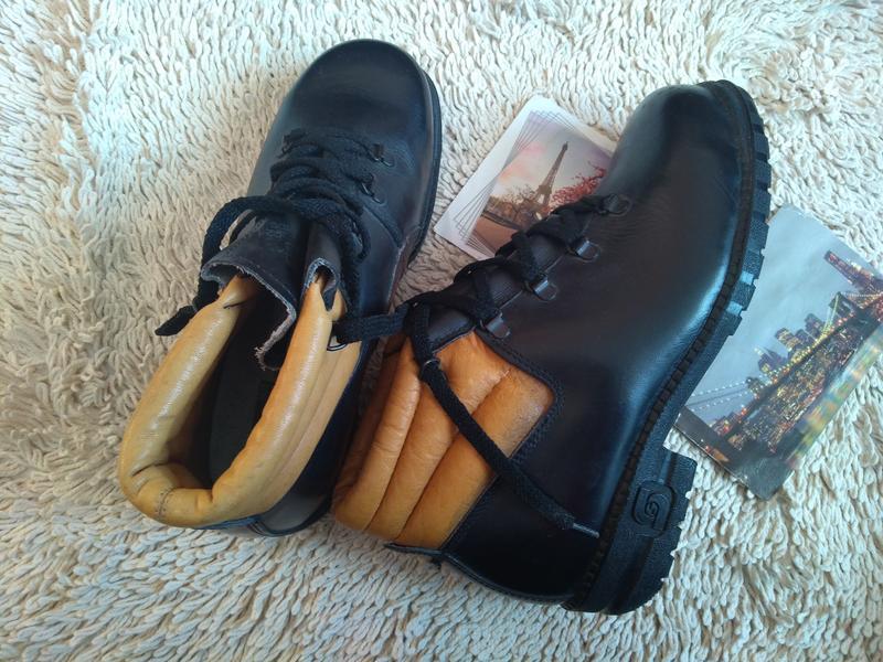 Ботинки кожаные steitz secura 40 р 26 см