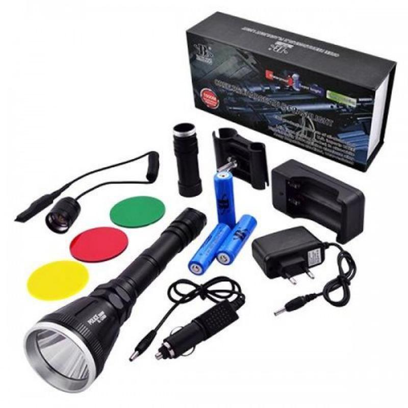 Тактический фонарь POLICE BL-Q3888 T6 150000W фонарик 1180 Lumen
