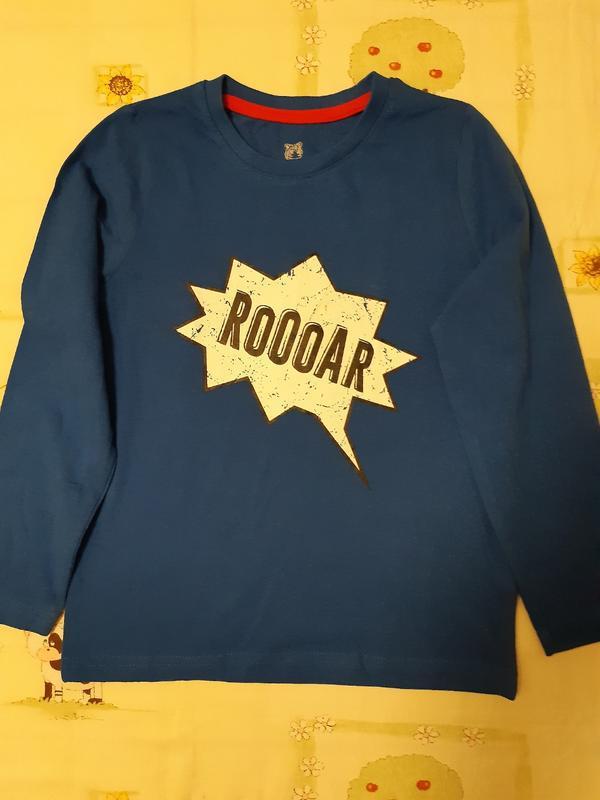 Хлопковая футболка lupilu для мальчика 4-6 лет