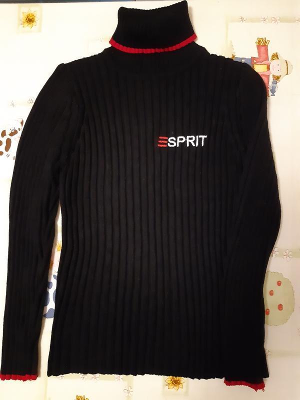 Теплый свитер, гольф  esprit для девочки 12-14 лет