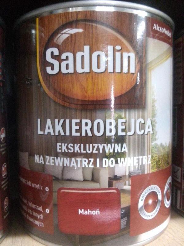 Sadolin DULUX Lakierobejca Садолін Дулюкс лакобейц