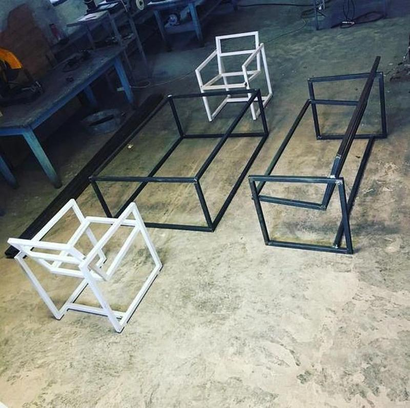 Мебель на заказ в стиле лофт