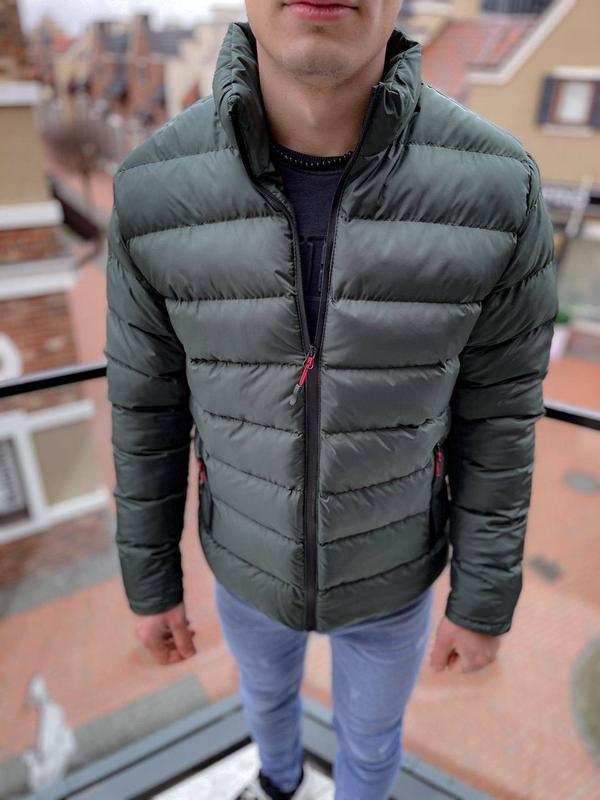 Топовая мужская зимняя куртка пуховик - Фото 2