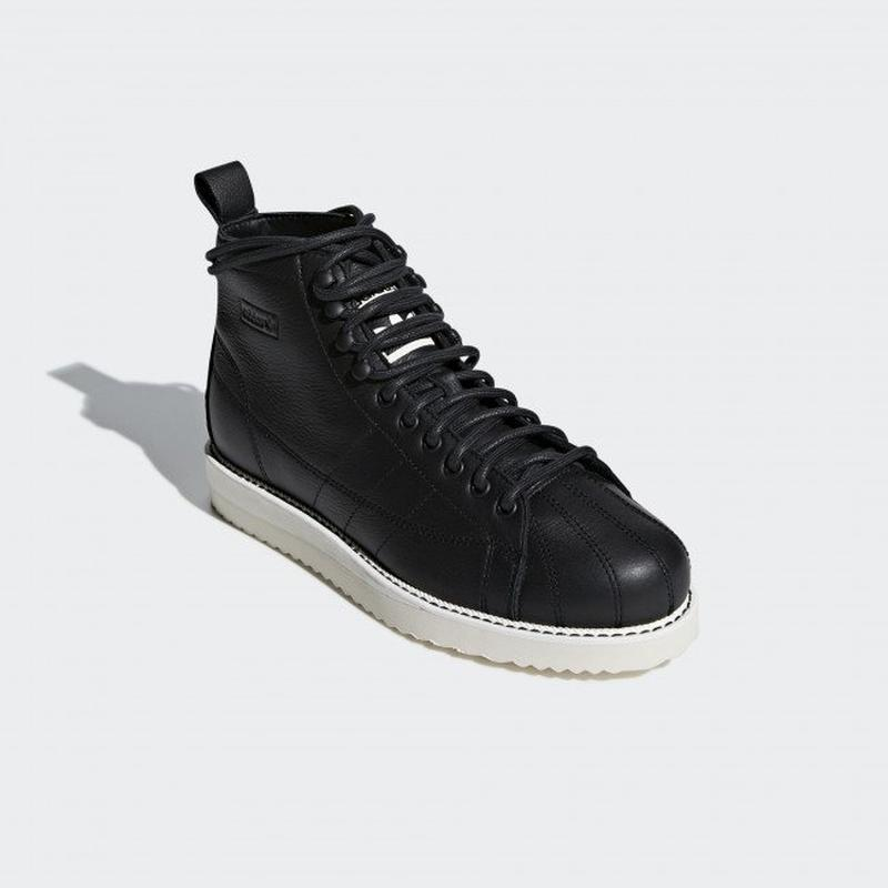 Женские ботинки adidas superstar boot   aq1213