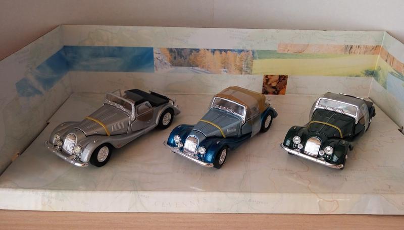 Набор моделей Morgan +8, Cararama/Hongwell, масштаб 1:43