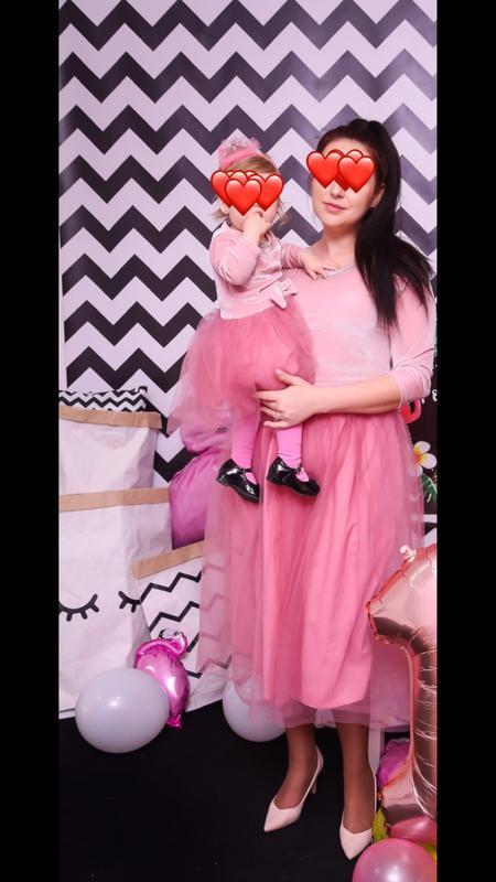 Крутой комплект платьев мама+дочь фемели лук family look плать...