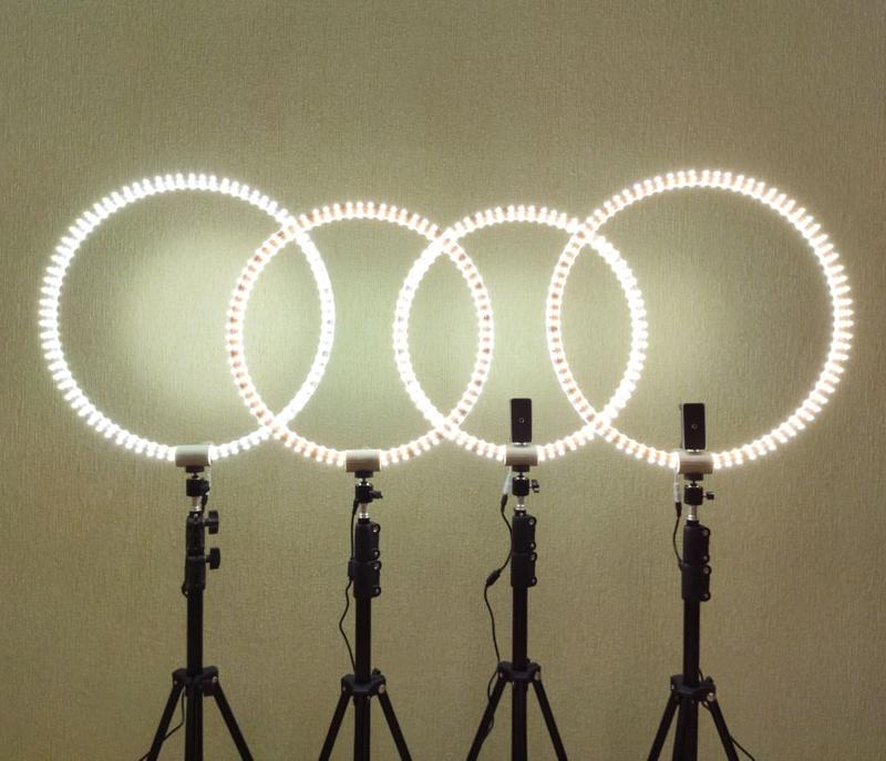 Кольцевая лампа, ledring, кольцевой свет, световое кольцо.