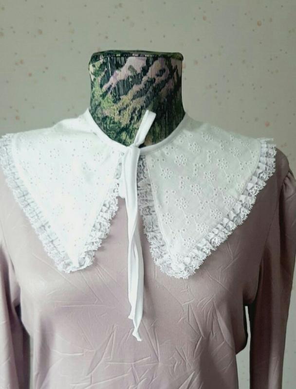 Батистовый воротник купить ткань для шитья дешево