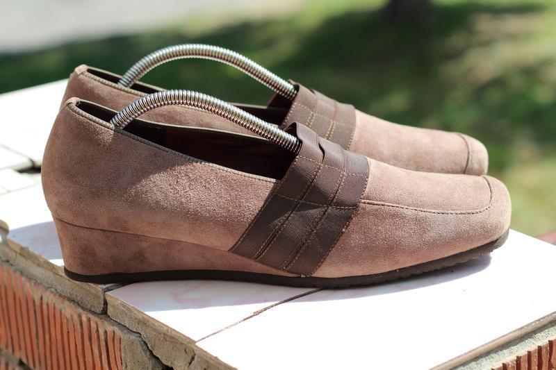Замшевые туфли ther оригинал