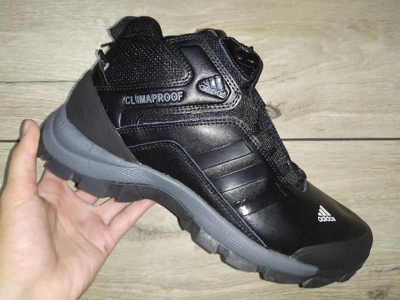 Зимние ботинки adidas climaproof зима зимові кроссовки - Фото 2