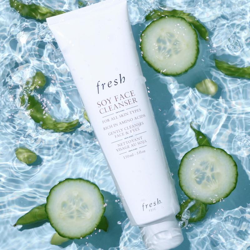 Fresh soy face cleanser гель для умывания