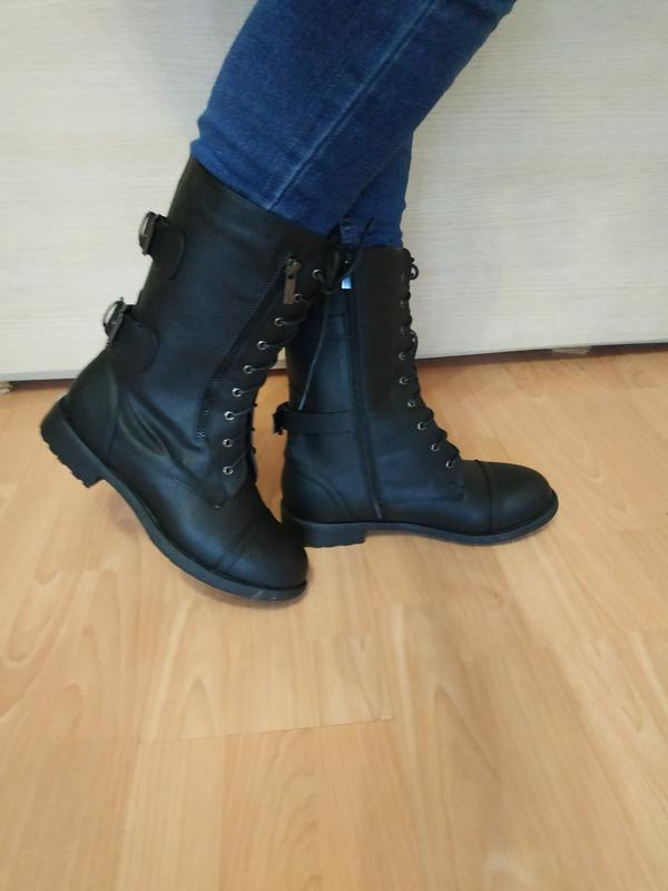 Ботинки полусапожки шнурки 42 р