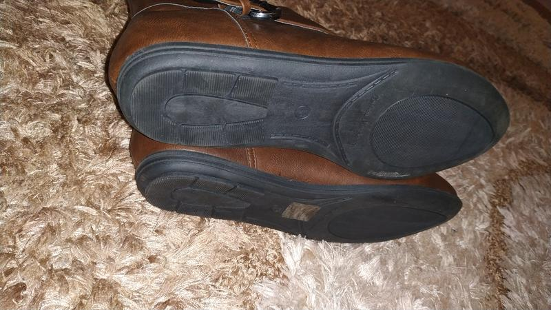 Ботильоны 42 р ботинки замшевые большой размер - Фото 8