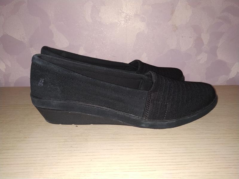 Туфли  42-43 р лоферы замш
