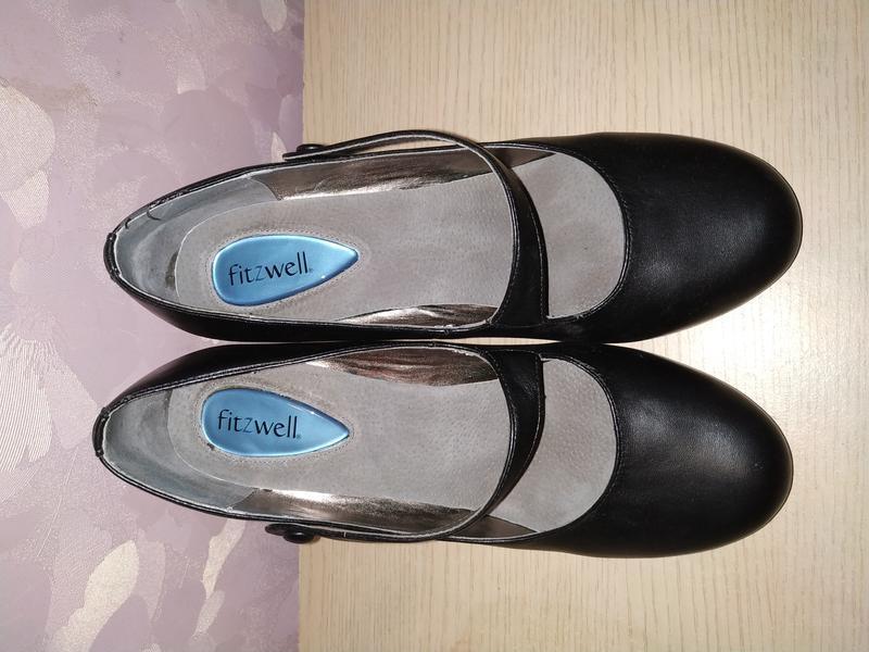 Туфли 41-42 р кожа fitzwell - Фото 4