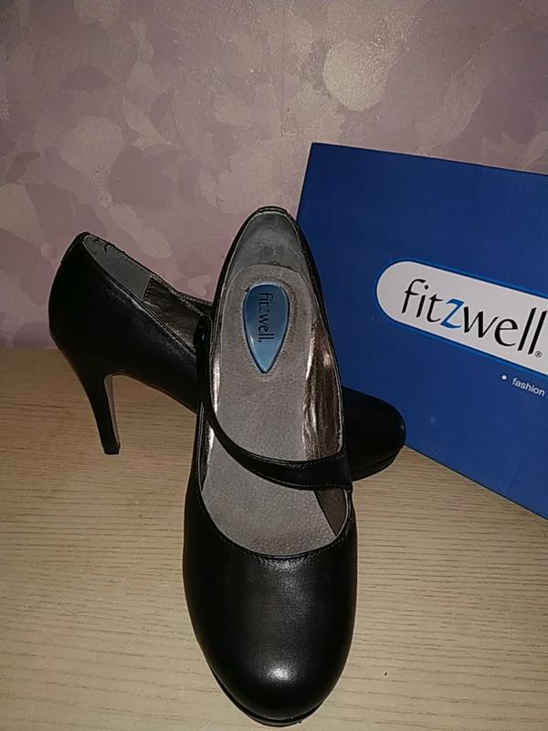 Туфли 41-42 р кожа fitzwell - Фото 8