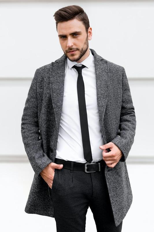 Мужское пальто на весну осень - Фото 2