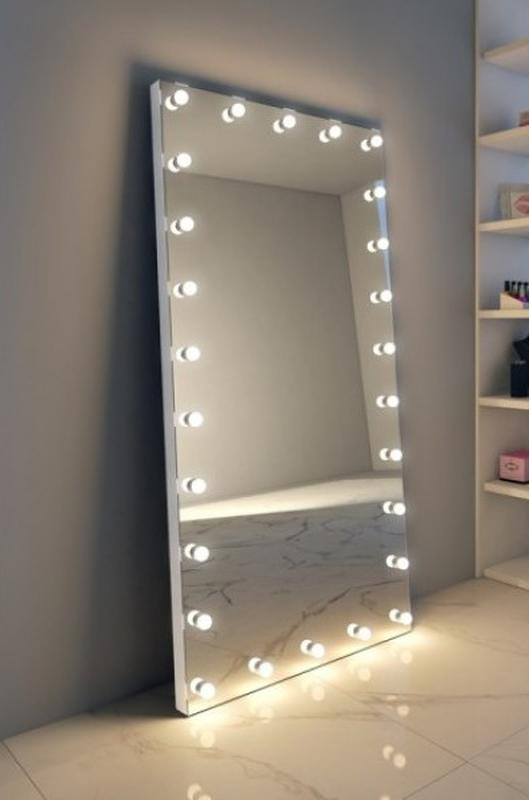 Гримерное зеркало с лампочками. Зеркало для визажа! - Фото 5