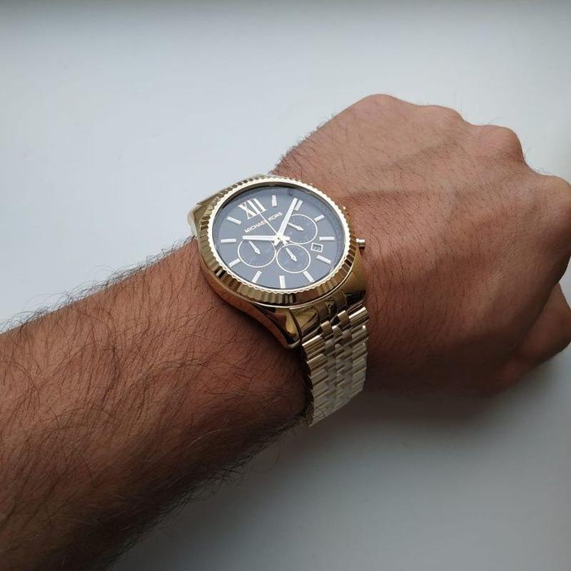 Мужские часы Michael Kors MK8286 'Lexington' - Фото 7
