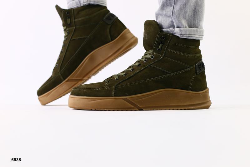 Мужские ботинки на меху - Фото 2