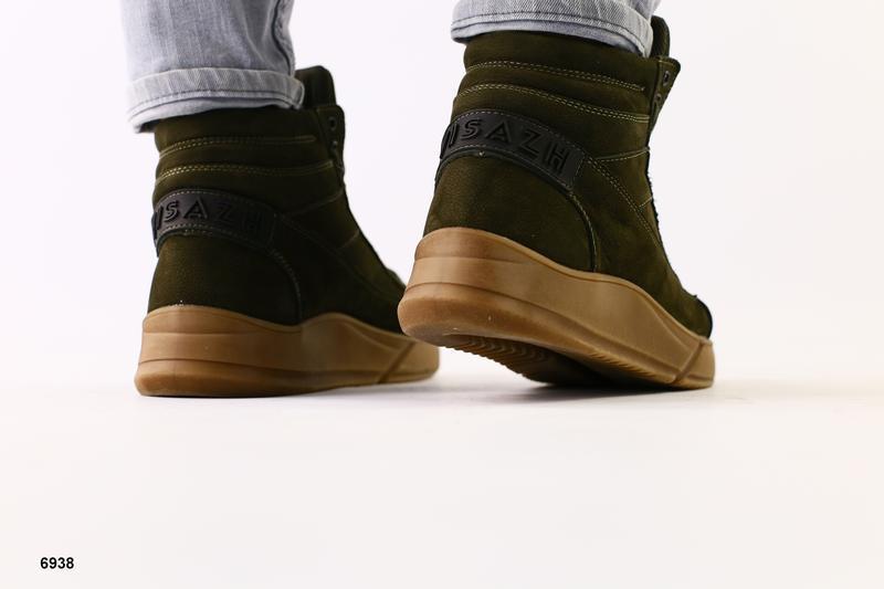 Мужские ботинки на меху - Фото 3